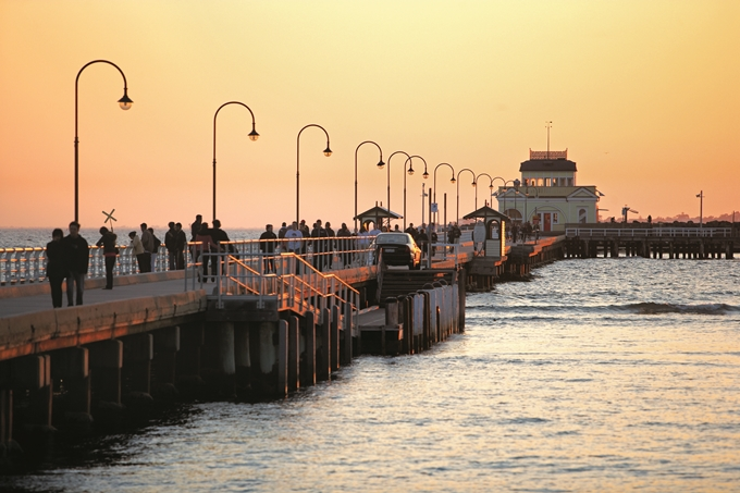 St Kilda Pier and Pavilion.