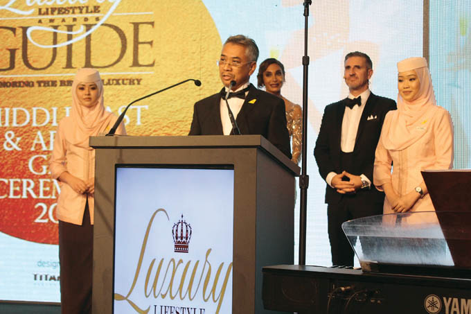 Exclusive Airlines Partner for Luxury Lifestyle Awards 01