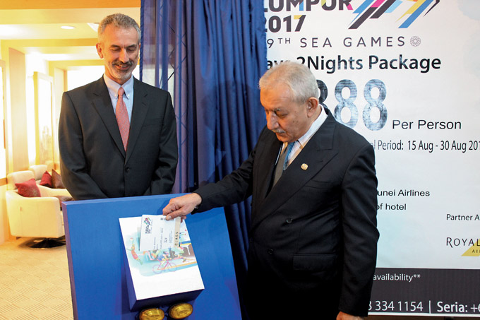 RB supported the Launch of 3D2N SEA Games Kuala Lumpur Package 01