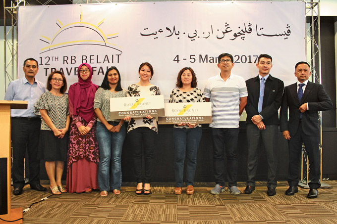 RB's Belait Travel Fair 2017 Grand Lucky Draw Winners