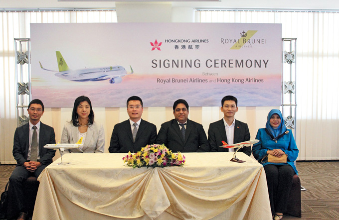 HK Airlines & RB Airlines Code Share 01